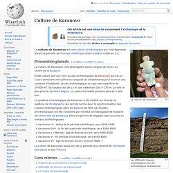 Culture de Karanovo