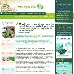 AMAP : plan de culture pour les maraîchers des AMAP, pour des paniers de (...) - Outils pour les AMAPs - AMAP