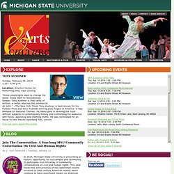 Home - Arts and Culture @ MSU - Michigan State University
