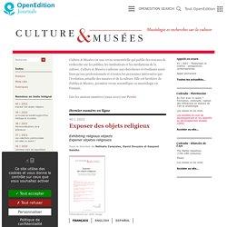 Culture & Musées - Muséologie et recherches sur la culture