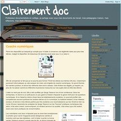 Clairement doc: Culture numérique