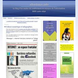 Culture numérique et infographies.