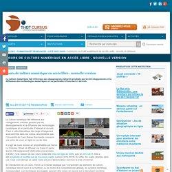 Cours de culture numérique en accès libre - nouvelle version