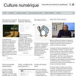 Culture numérique - Pour une philosophie du numérique.