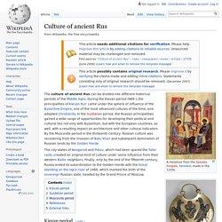 periods ancient Rus