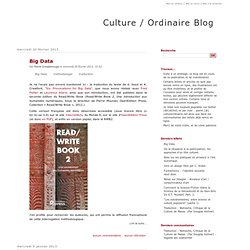 Culture / Ordinaire Blog
