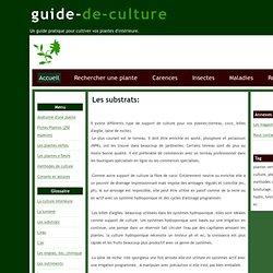 Guide de culture plantes