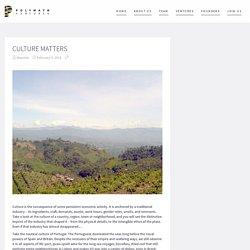 Culture Matters - Polymath Ventures
