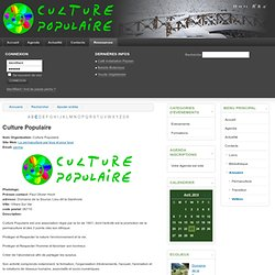 Culture Populaire