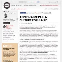 Apple n'aime pas la culture populaire