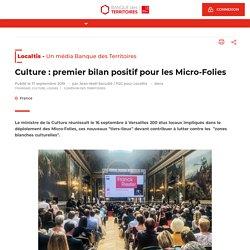Culture : premier bilan positif pour les Micro-Folies