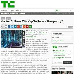 Hacker Culture: The Key To Future Prosperity?
