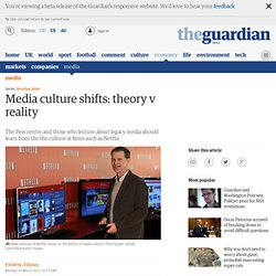 Media culture shifts: theory v reality