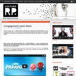 L'engagement selon Oasis
