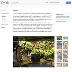 Culture – Société – Google