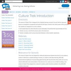 Culture Trek Introduction