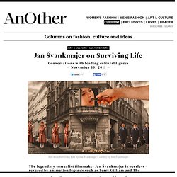 Art Talks - Jan Švankmajer on Surviving Life