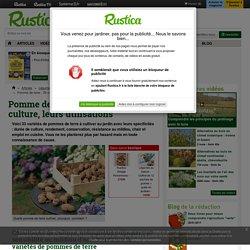 Culture de 33 variétés de pomme de terre