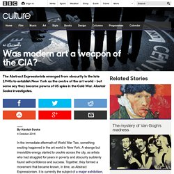 Culture - Was modern art a weapon of the CIA?