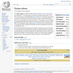 Tasian culture
