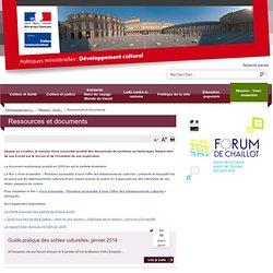 Ressources et documents / Mission : Vivre ensemble / Développement culturel / Politiques ministérielles