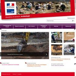 Archéologie au Ministère de la culture et de la communication - www.archeologie.culture.gouv.fr