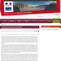 Patrimoine culturel immatériel / Patrimoine ethnologique / Disciplines et secteurs