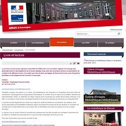 Livre et lecture / Les services / Drac Auvergne / Régions