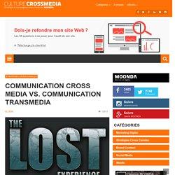 Culturecrossmedia est votre blog dédié au cross média : articles, vidéos, chiffres clés au sujet des campagne de communication cross media mais également toutes les nouvelles t