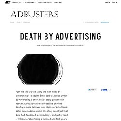 Death by Advertising