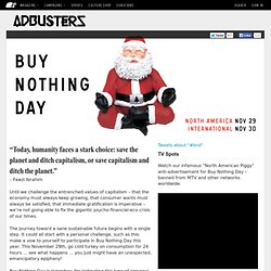 Buy Nothing Day + Buy Nothing Christmas