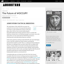 The Future of #OCCUPY