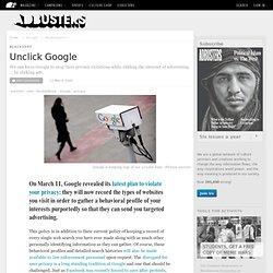 Unclick Google