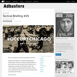 #OccupyChicago - Adbusters - May2012