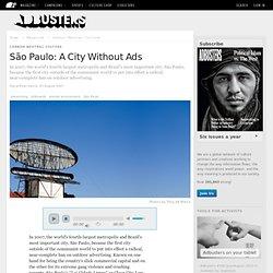 São Paulo: A City Without Ads
