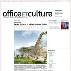 Centre Culturel et bibliothèque en Suède