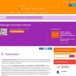 Manager de projet culturel : la fiche métier sur Orientation Education
