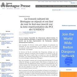 Fest Noz au patrimoine mondial de l'UNESCO