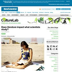 CultureLab: Does literature impact what scientists study?