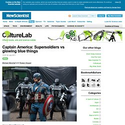 CultureLab: Captain America: Supersoldiers vs glowing blue things