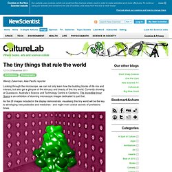 CultureLab: The tiny things that rule the world