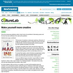 CultureLab: Make yourself more creative
