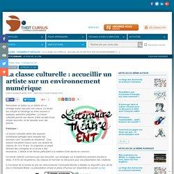 La classe culturelle : accueillir un artiste sur un environnement numérique