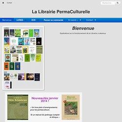 La Librairie Perma-Culturelle : PagePrincipale