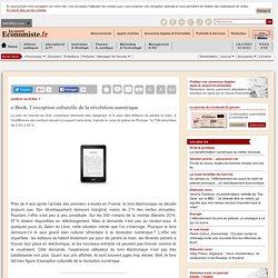 e-Book, l'exception culturelle de la révolution numérique