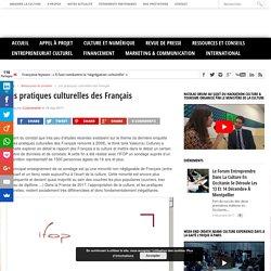 Les pratiques culturelles des Français - Cultureveille