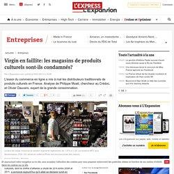 Virgin en faillite: les magasins de produits culturels sont-ils condamnés?