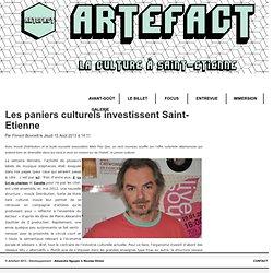 Artefact - Les paniers culturels investissent Saint-Etienne