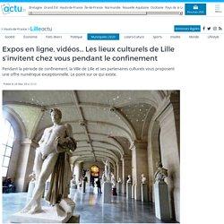 Expos en ligne, vidéos... Les lieux culturels de Lille s'invitent chez vous pendant le confinement