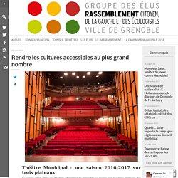Rendre les cultures accessibles au plus grand nombre – Grenoble, une ville pour tous